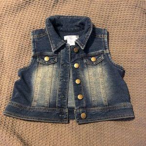 Jackets & Blazers - Girls Jean vest